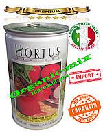 Семена Редис Кримсон Гигант / Crimson Gigant (всесезонный), 500 г. банка ТМ HORTUS Италия, инкрустир