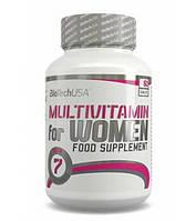 BioTechUSA Multivitamin for Women , 60 tablets- комплексные мультивитамины для женщин