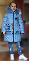 "Зимняя куртка ""Леди"" на девочку"