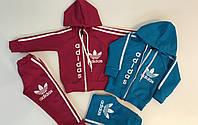 Спортивный костюм Adidas голубой 1