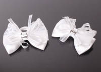 Резинка детская бантик, упаковка 12 шт. 1-120851