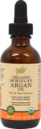 Perfectly Pure Moroccan Argan Oil 2 oz Oil, фото 2