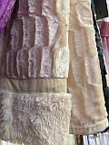 Покрывало на кровать меховое Норка 200х230 цвет кремовый