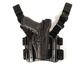 Кобура Blackhawk Level 3 Serpa Tactical для пистолетов Glock (430600BK-R) C