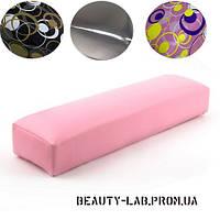 Подставка для маникюра (подлокотник) (розовый, серебро, бронзовый)