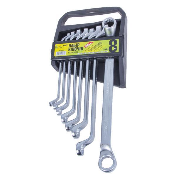 Набор накидных ключей Alloid 6х7-20х22 мм 8 предметов НК-2031-8