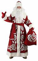 Костюм Дед Мороз Красный с вышивкой №3