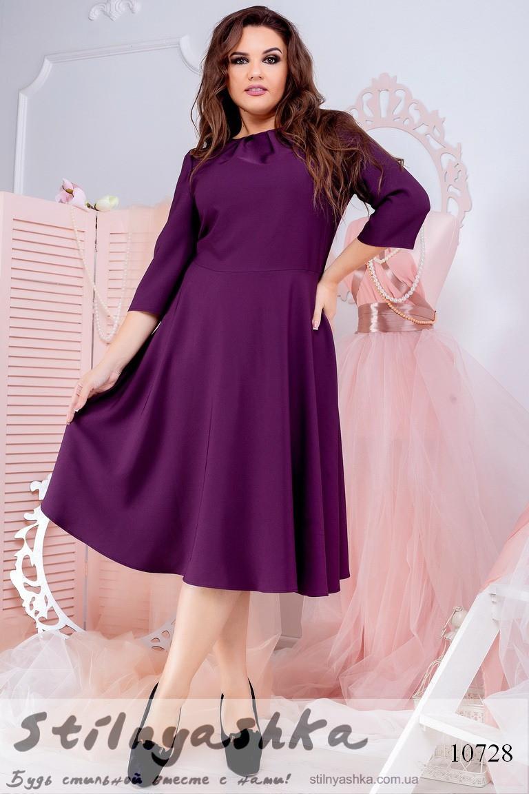 стильное платье батал