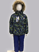Зимний детский комбинезон для мальчика Joiks KG-73