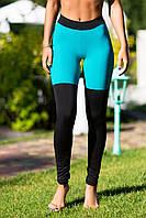 Спортивные леггинсы Yoga Tender Emerald, фото 1