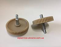 Шестерня для мясорубок с метал. валом.  D-86мм/56зубов