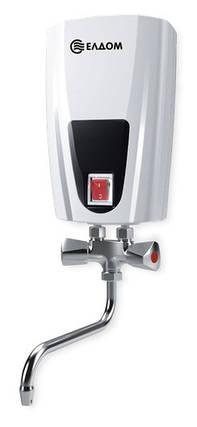 Проточный водонагреватель 5 кВт ELDOM E51, фото 2