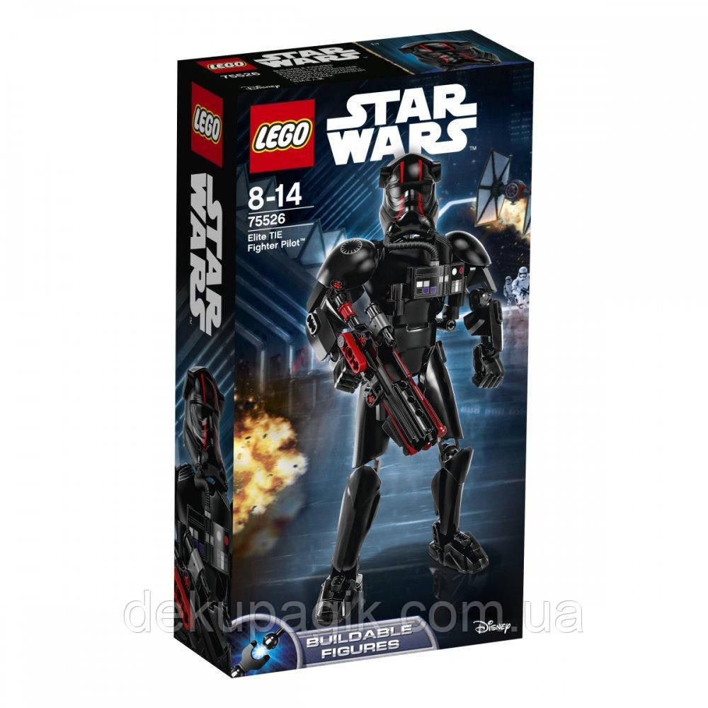 Lego Star Wars Элитный пилот истребителя TIE 75526