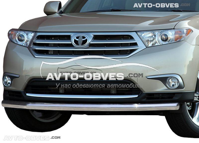 Захист бампера Toyota Highlander