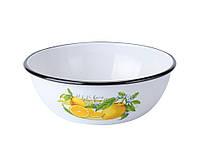 Миска эмалированная 2,5л 0311/2 Epos Лимон