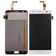 Оригинальный дисплей (модуль) + тачскрин (сенсор) для Oukitel K6000 | K6000 Plus (белый цвет)