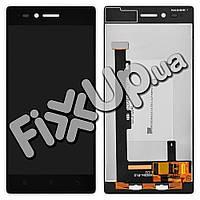 Дисплей Lenovo Z90-7 Vibe Shot с тачскрином в сборе, цвет черный