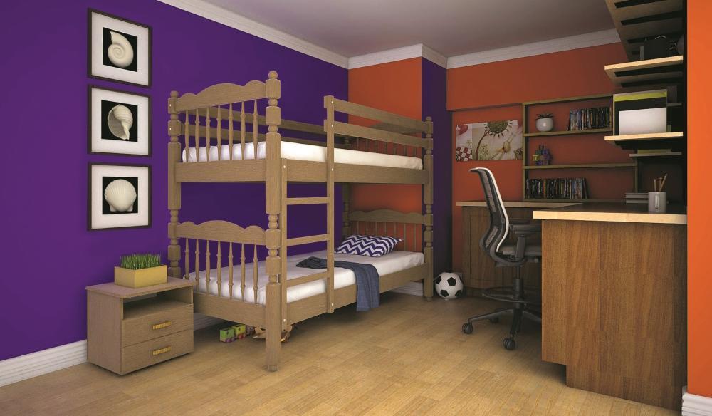 Кровать ТИС Трансформер-2 80*190 дуб