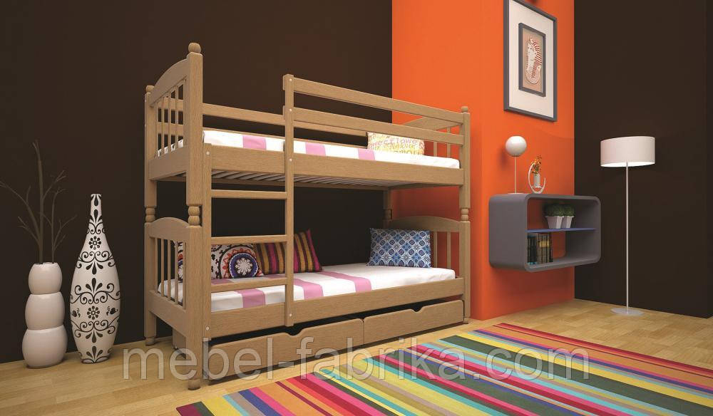 Кровать ТИС Трансформер-3 90*200 дуб