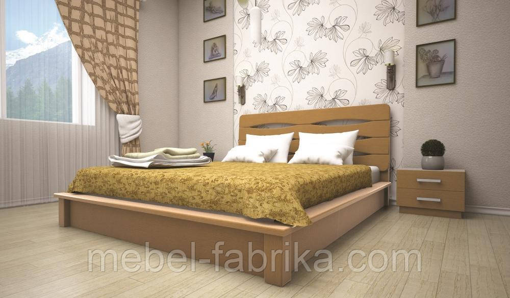 Кровать ТИС АРГО 140*200 сосна