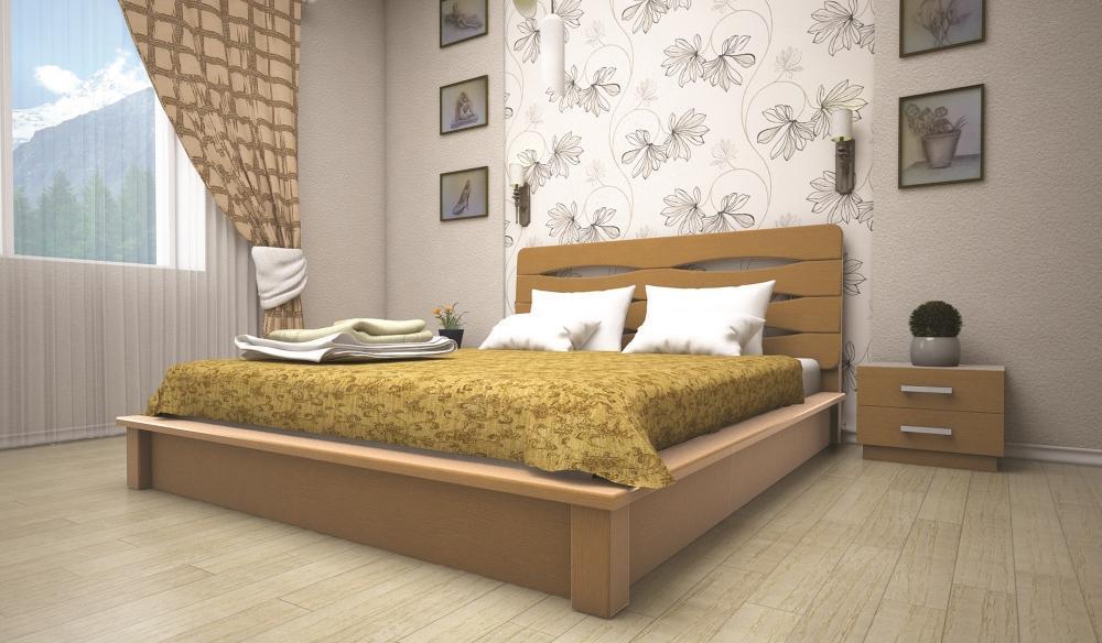 Кровать ТИС АРГО 140*190 бук