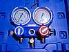 Манометрический коллектор двухвентельный  VALUE  VMG-2-R410А-B шланги 90 см (R410,407,22,134) (Чемодан)