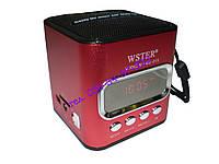 Портативная мини радио колонка WSTER WS-215