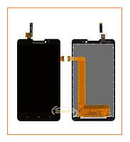 Дисплей Lenovo P780 с сенсором (тачскрином) Black Original