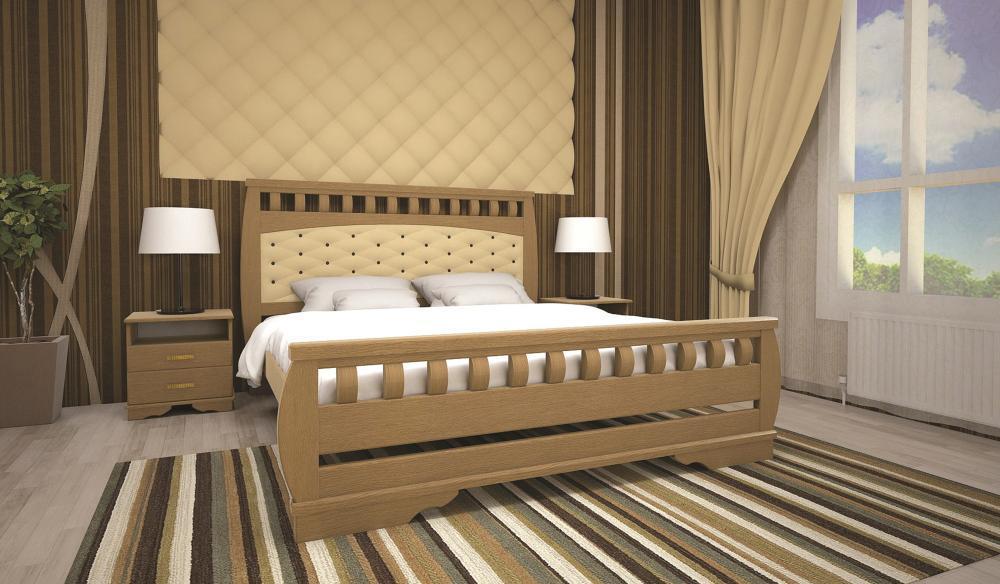 Кровать ТИС АТЛАНТ 11 140*190 дуб