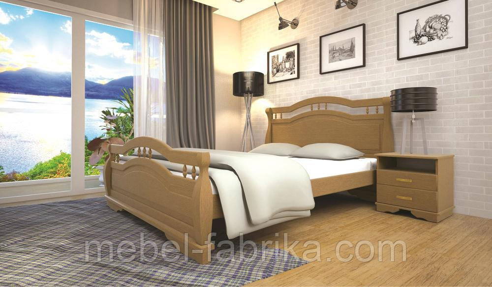 Кровать ТИС АТЛАНТ 22 140*190 бук