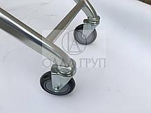 Колеса для покупательских тележек  100 мм , фото 2