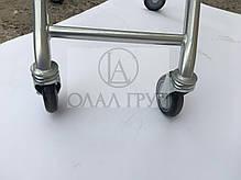 Колеса для покупательских тележек  100 мм , фото 3