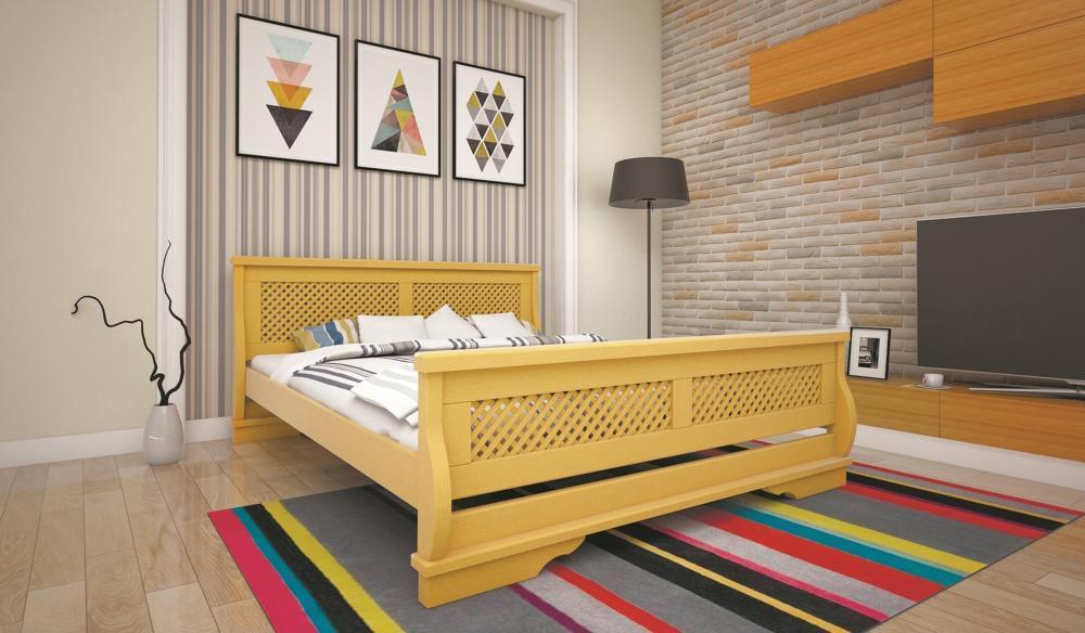 Кровать ТИС АТЛАНТ 24 140*190 дуб