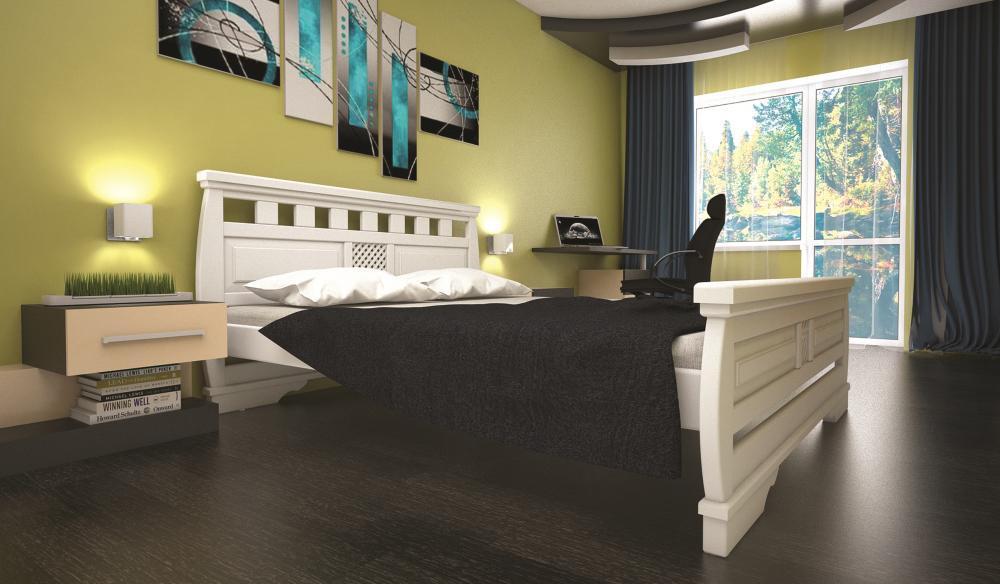 Кровать ТИС АТЛАНТ 25 180*200 сосна