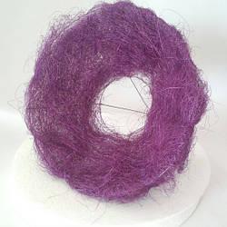 Каркас сизалевый 30 см фиолетовый