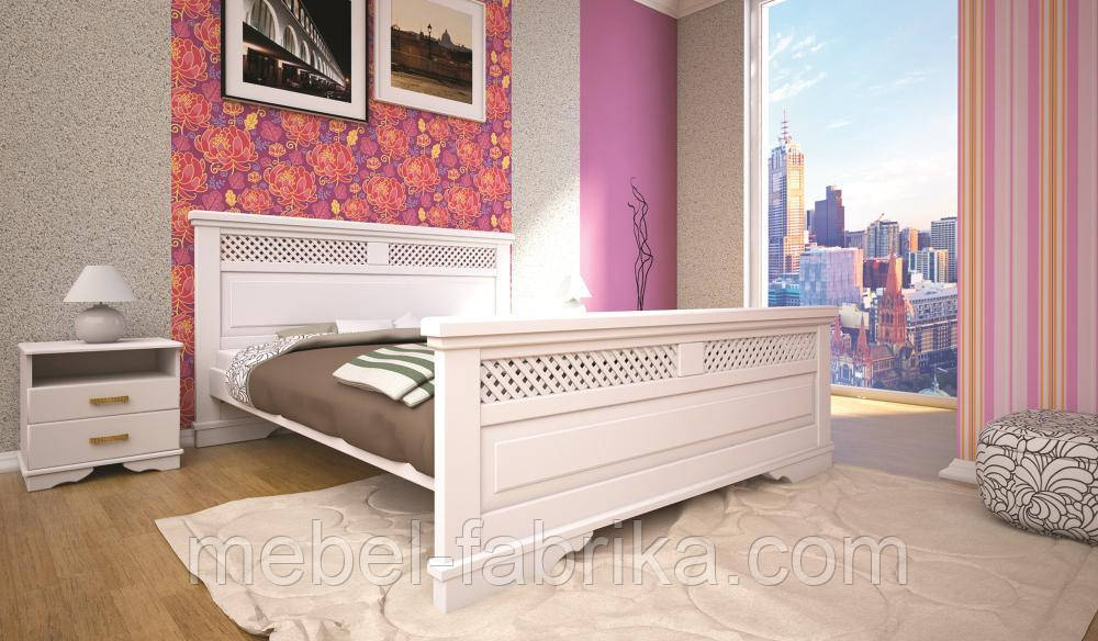 Кровать ТИС АТЛАНТ 26 160*190 бук