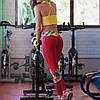 Лосины/леггинсы спортивные женские компрессионные для спорта, фитнесса, зала, йоги, бега