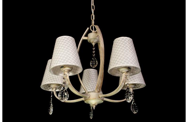 Люстра в стиле прованс на 5 ламп