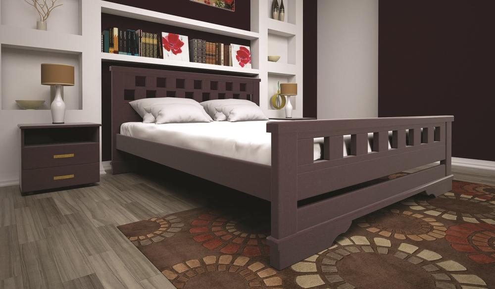 Кровать ТИС АТЛАНТ 9 160*200 дуб