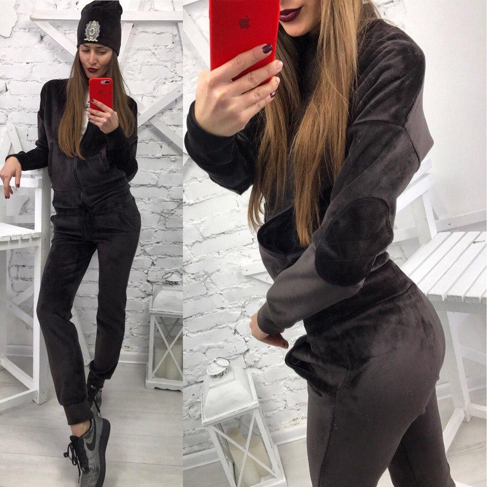 Женский велюровый костюм  Спортивный костюм  3 цвета - интернет-магазин