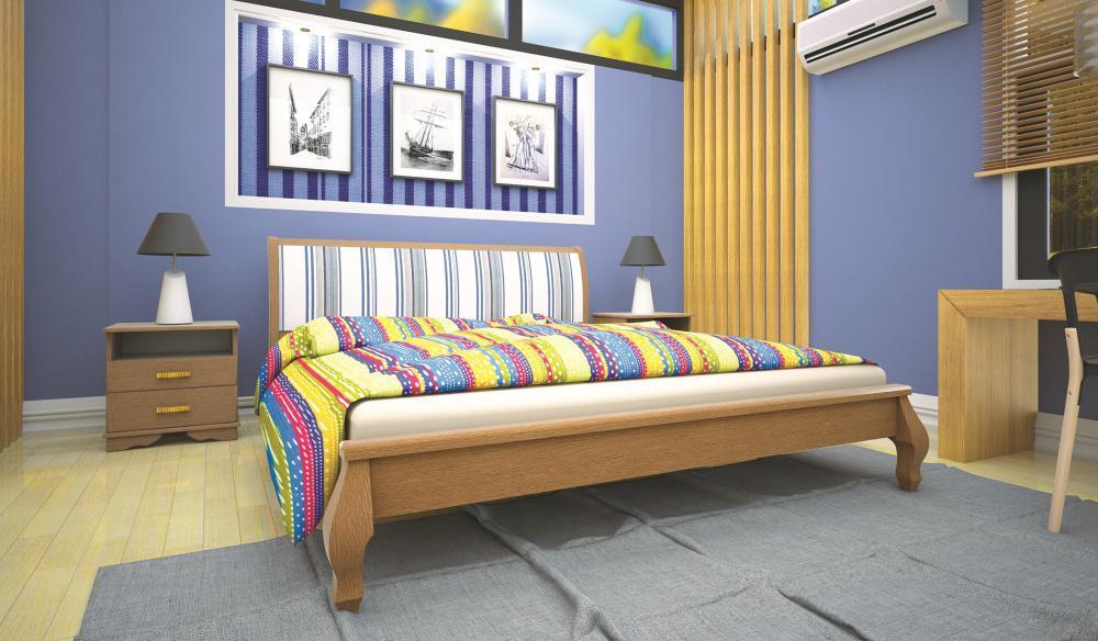 Кровать ТИС ВЕНЕЦІЯ 90*200 бук