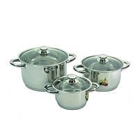 Набор посуды из 6 предметов BergHOFF Vision premium 1106000