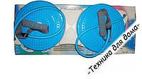 Диск здоровья с эспандерами двойной массажный DOUBLE TWISTER s