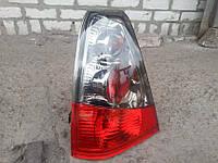 Задние фонари на Dacia (Logan) хром., фото 1