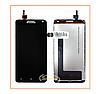 Дисплей Lenovo S580 с сенсором (тачскрином) Black Original