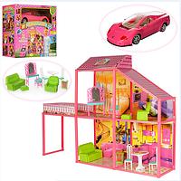 Кукольный домик с МАШИНОЙ 6981