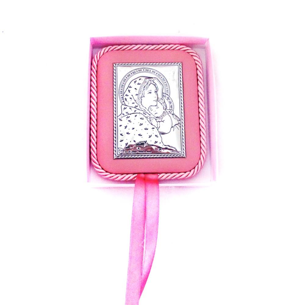 Икона Святая Мария с младенцем на подушечке Гранд Презент 4245