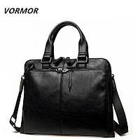 Портфель сумка мужской Vormor (черный)