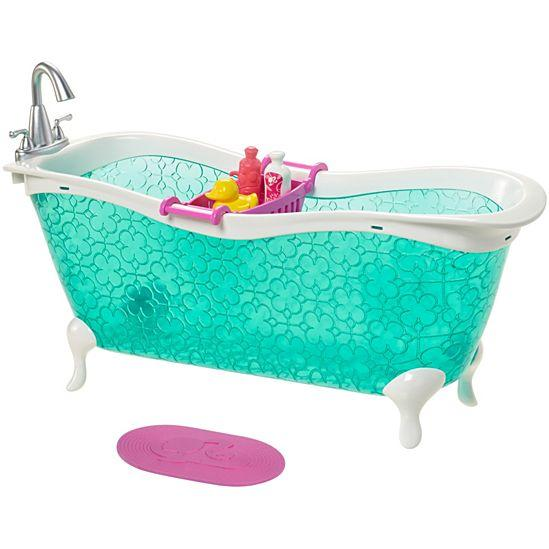 Мебель для Барби Ванна / Barbie Bathtub Set