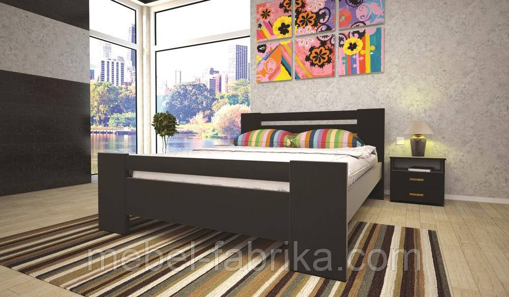 Кровать ТИС ІЗАБЕЛЛА 1 160*200 сосна